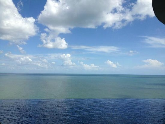 Panamericana Hostel: Vista al mar...