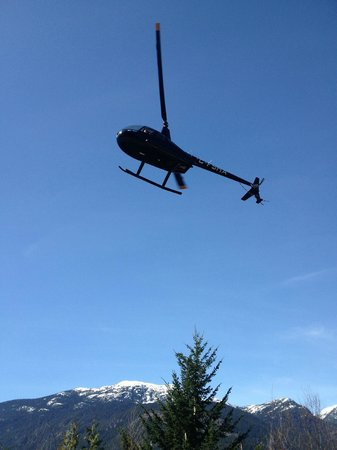 SKY Helicopters Inc.: And this is when they come to Pick you up.! Don't Forget Your Camera.....!