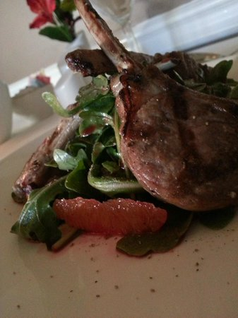 Carnegie Inn & Spa: Lamb Lollipops