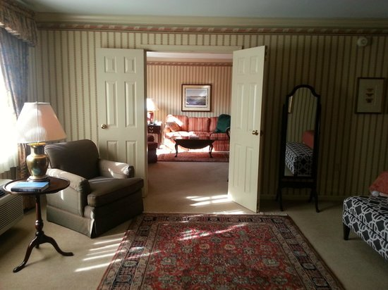Carnegie Inn & Spa : Entire Suite View
