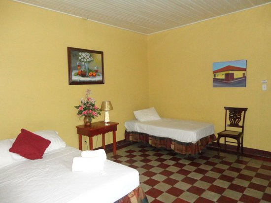 Hostal Guardabarranco: Habitacion