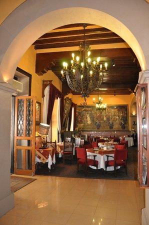 Posada Santa Fe: Comedor interior