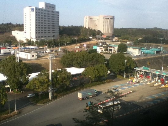 Narita Gateway Hotel: View from room