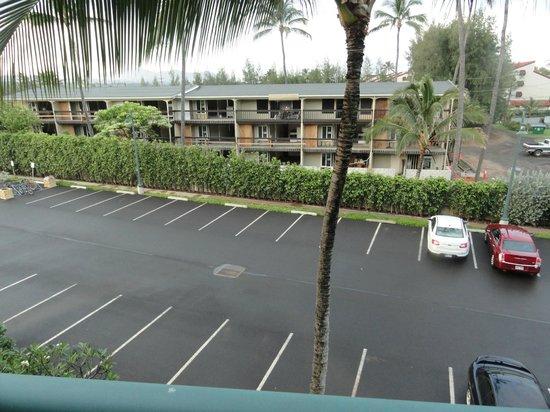 Waipouli Beach Resort: Hoped for view