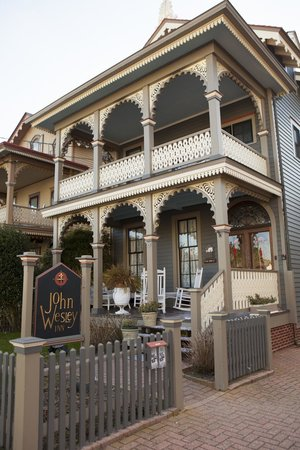 front of john wesley inn