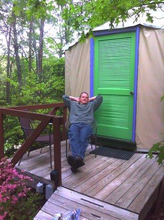 Cedar House Inn & Yurts : Our Yurt