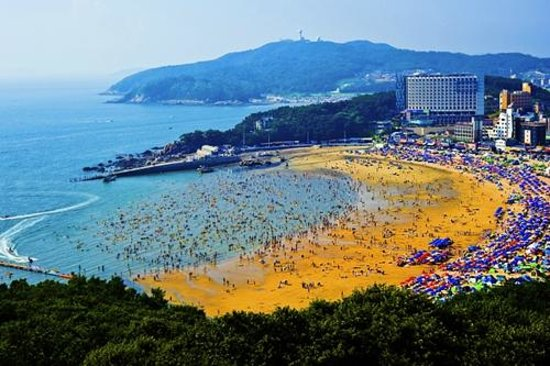 Incheon, Güney Kore: Eulwang Beach