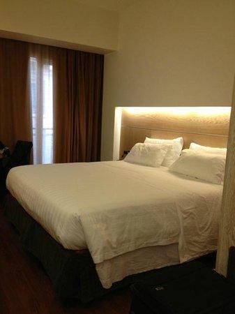 Hilton Garden Inn Rome Claridge: Queen-bed room