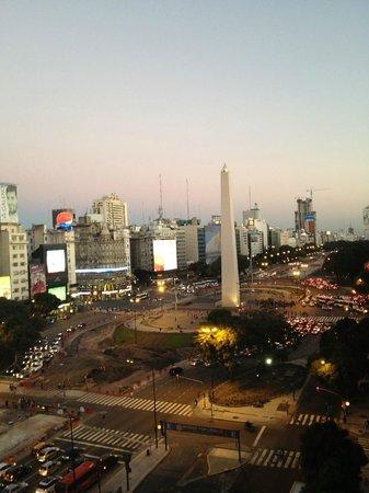 NH Buenos Aires Tango: Vista da varanda da suíte Deluxe