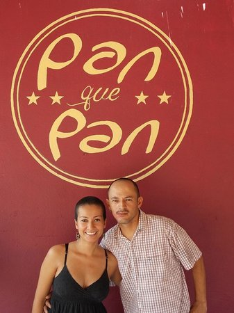 Pan Que Pan, Bistro & Bakery: The owners