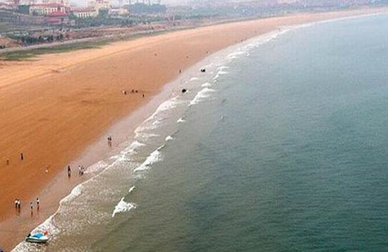 Golden Sandy Beach Foto