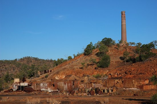 Chillagoe, Australia: Smelter ruins