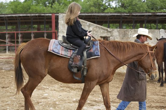 Mayan Dude Ranch: 7 year old riding
