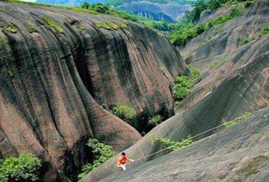 Foto de Feitian Mountain national Geological Park