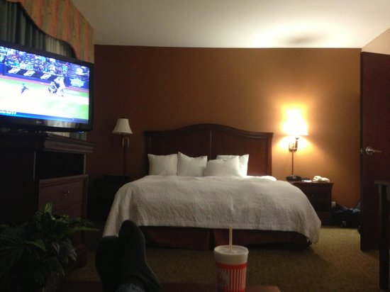Hampton Inn Corpus Christi - Northwest I-37: View from sofa