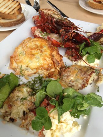 Millhouse Cafe: Fish platter for two