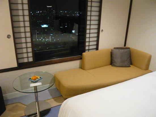 Hilton Osaka: 大阪駅が見えます