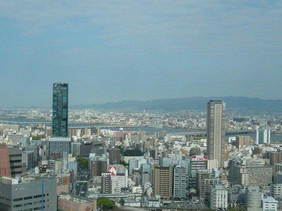 Hilton Osaka: 六甲山まで見渡せます。