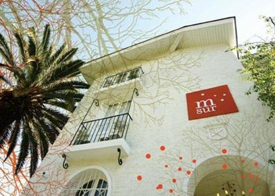 Meridiano Sur, Petit Hotel: fachada postal