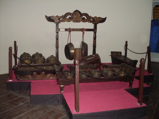Museum Wayang : Some of the traditional instruments used for the music in the puppet concerts