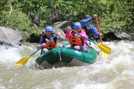 Pigeon River: White Water