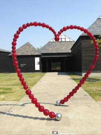 Hara Museum Arc : 入口