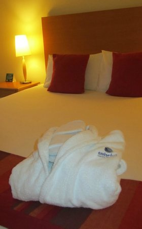 Quest Frankston: complimentary robe and slippers with package