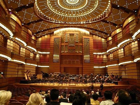 Dewan Filharmonik Petronas: Petronas Philharmoic Hall at the Twin Towers , Kuala Lumpur