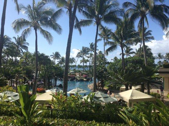 Grand Hyatt Kauai Resort & Spa: Pool overlook