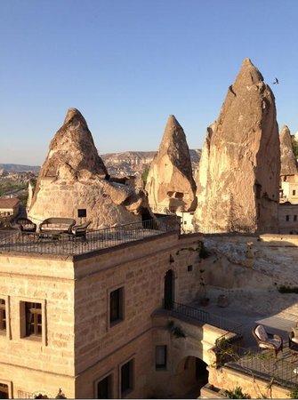 Cappadocia Cave Suites: Good place to enjoy sunset