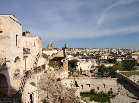 Cappadocia Cave Suites: Breakfast View
