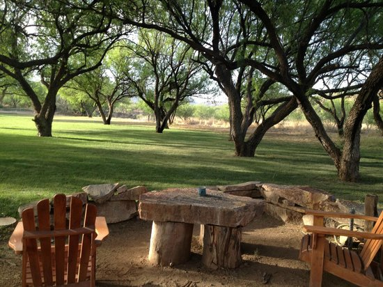 Circle Z Ranch: part of the grounds