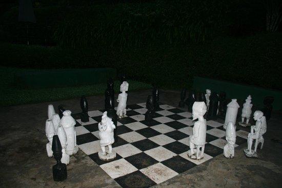 Sunbird Ku Chawe: chess in the garden