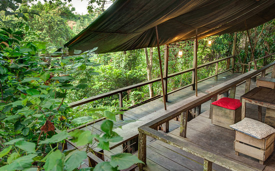 Paganakan Dii Tropical Retreat: Forest edge