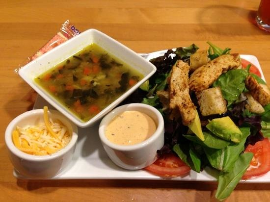First Watch: Sante Fe Salad with Italian Wedding Soup