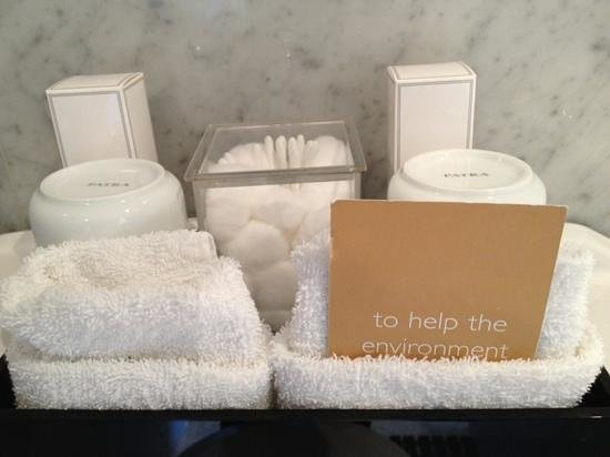 Radisson Blu Edwardian Vanderbilt: Bath amenities