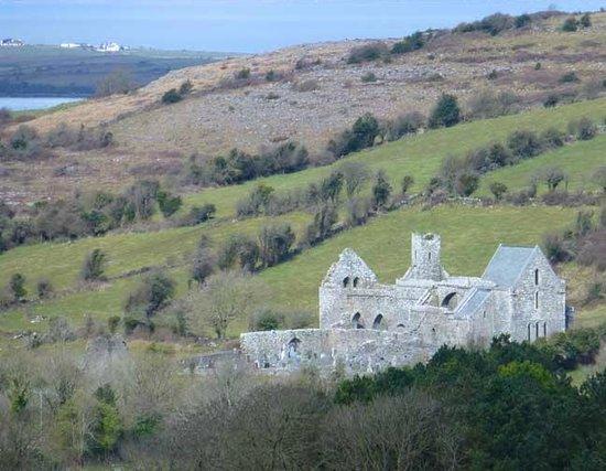 Burren Wild Tours: Ancient monastery, Burren County Clare, Ireland