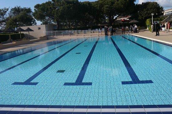 Vue a la tomb e de la nuit photo de h tel club marina for Club piscine shawinigan sud
