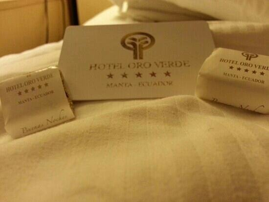 HOTEL ORO VERDE MANTA Gifts