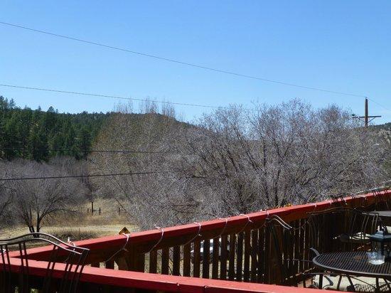 Little Toad Creek Inn & Tavern: Restaurant balcony