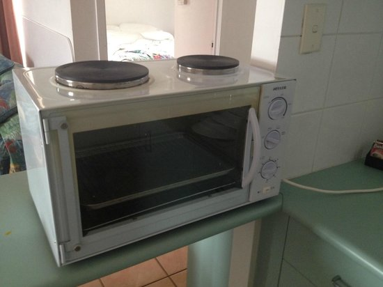 Whitsunday Terraces Resort: Kitchen Hotplate
