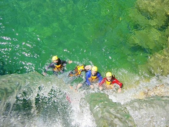Canyon Adventures : best water today