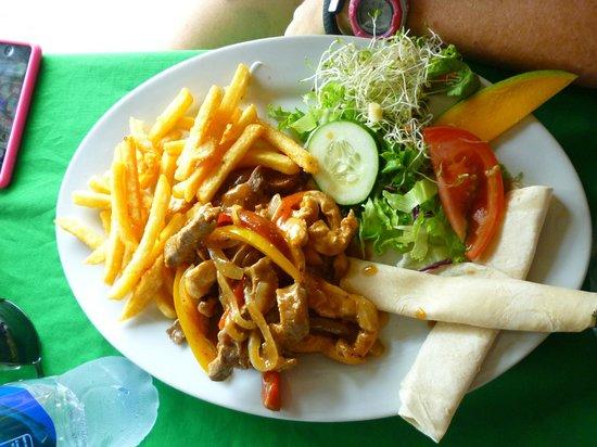 Bar & Restaurant Las Brisas: fajitas mixtas