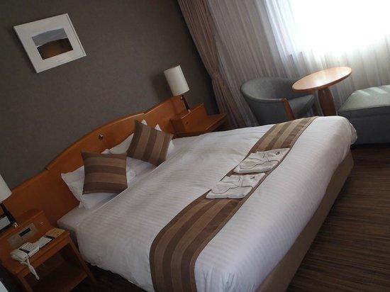 Okayama Koraku Hotel: The bedroom