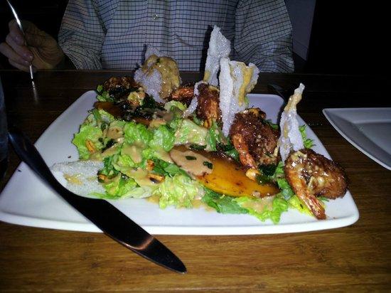 Justin's: Thai Shrimp Caesar salad