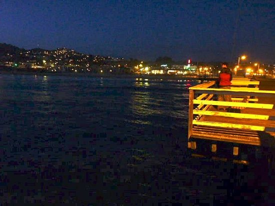 Pismo Pier At Night