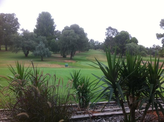Renmark Resort : Looking out from Resturant