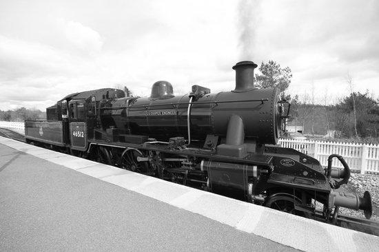 Strathspey Steam Railway: here we go