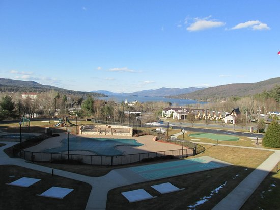 Holiday Inn Resort Lake George: View of Lake George from Suite on 3rd Floor