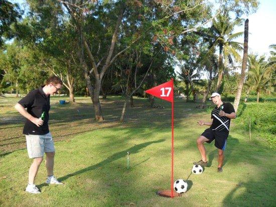 Phuket Games Zone: Football Golf